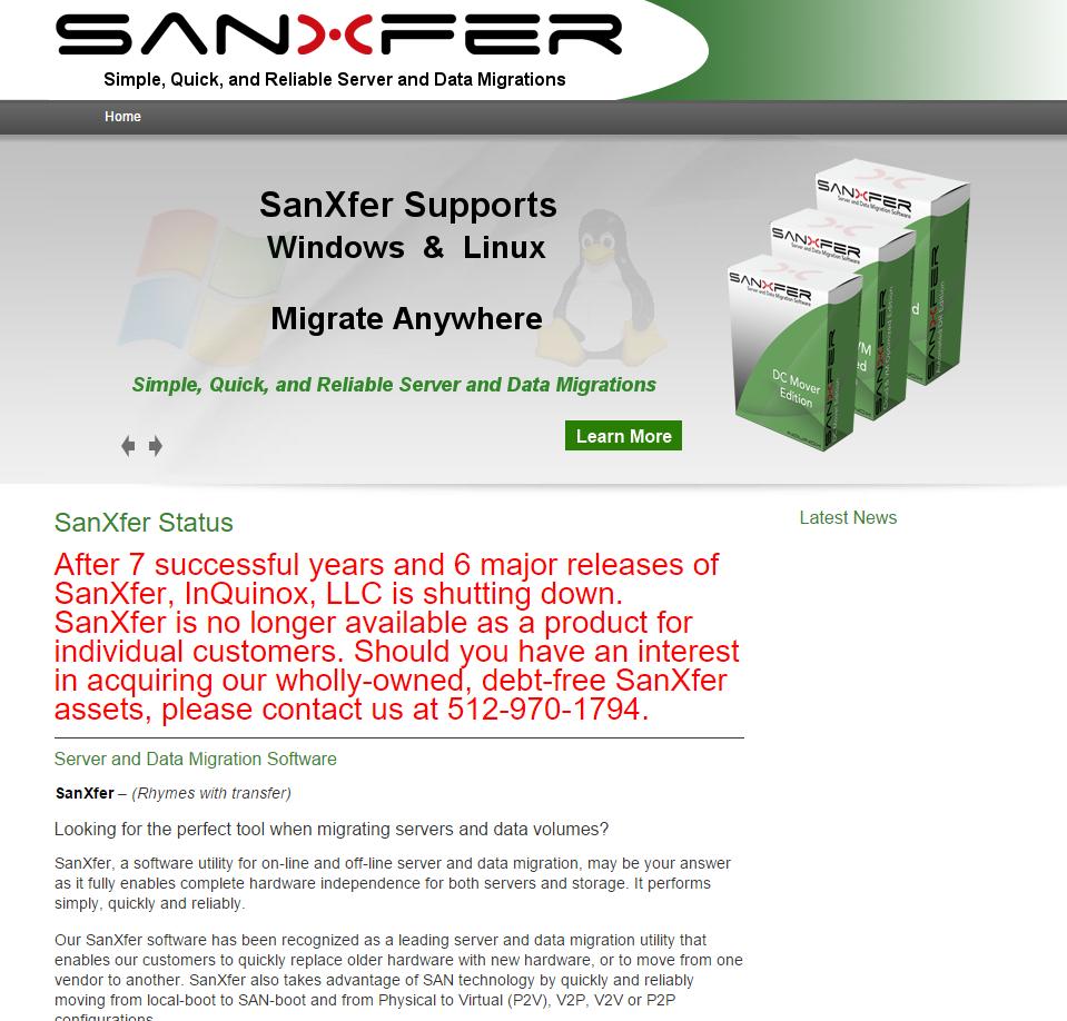 SanXfer Software
